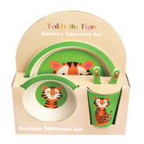 Teddy The Tiger Bamboo Tableware Set