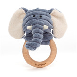 Cordy Roy Baby Elephant Wooden Ring Toy