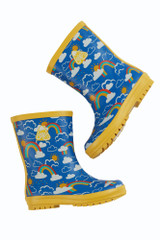 Puddle Buster Wellington Boots - Rainbow Skies