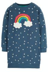Eloise Jumper Dress - Abisko Stars/Rainbow