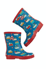 Puddle Buster Wellington Boots - Sail The Seas