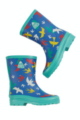 Explorer Wellington Boots - Rainbow Flight