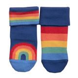 2 Pack Rainbow Socks