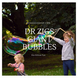 Dr Zigs World Record Breaking Giant Bubbles At Nonsuch! - Quality Sustainability & Made In The UK