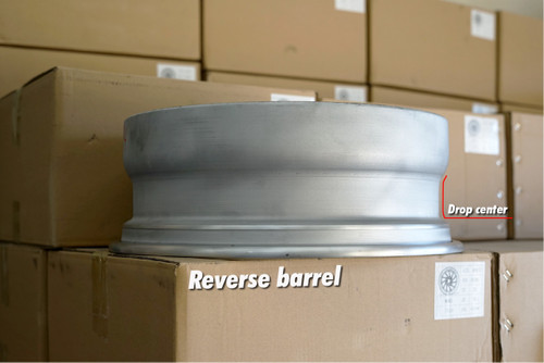 American Wheel Barrels - Reverse