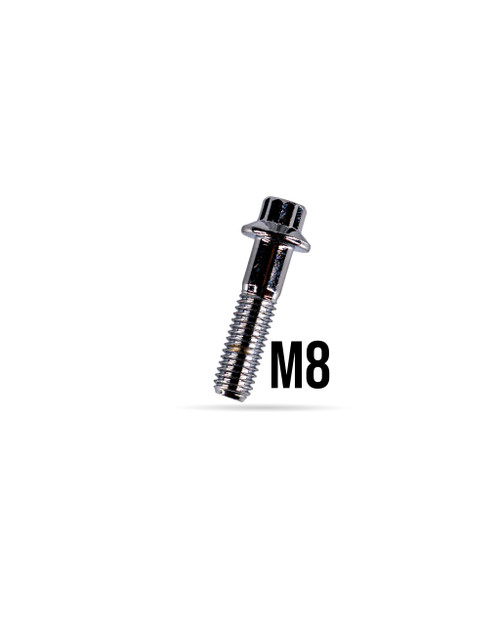 M8x32 Socket Cap Wheel Assembly Bolt Chrome