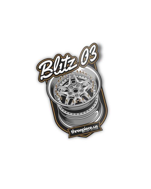 threepiece.us BLITZ ⚡️03 Sticker
