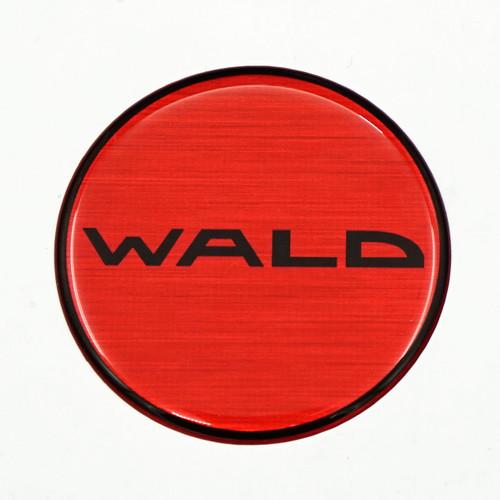 Wald Duchatlet Text Reproduction Gel Center Cap Overlay