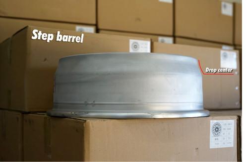 Custom Wheel Barrels - Step