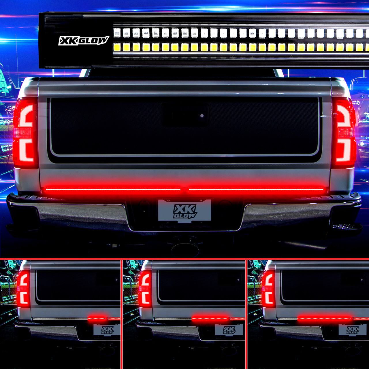 48 60inch Truck Tailgate Led Light Bar With Sequential Turn Signal