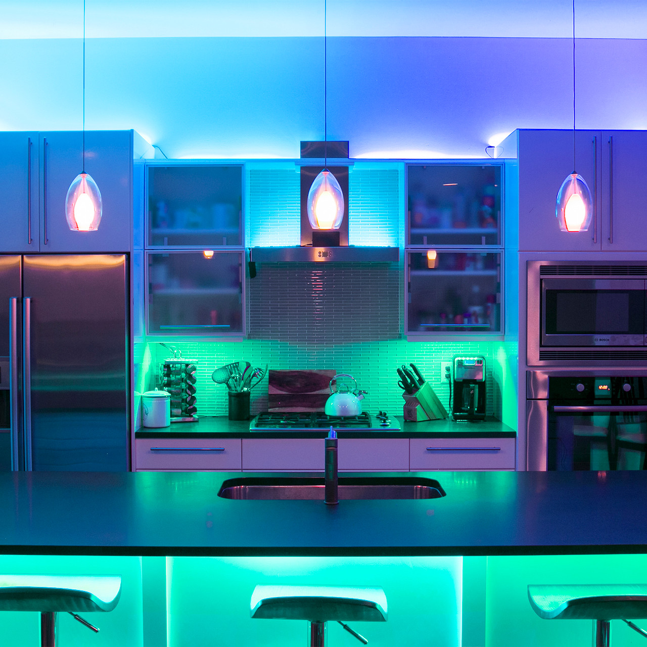 Indoor Led Accent Light Kits For Home Xkchrome Smartphone App