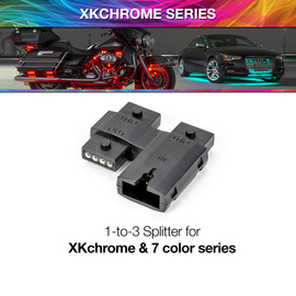 1 to 3 Splitter Block | XKchrome or 7 Color Add On