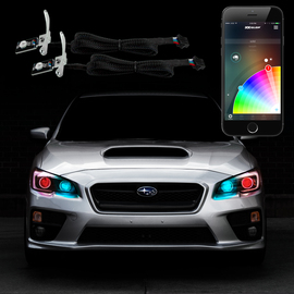 2pc RGB Devil Eye Kit XKchrome smartphone app controlled