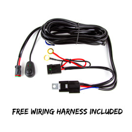 Free wiring harness included