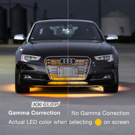 Gamma Correction used to accurately display the correct color