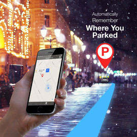 GPS locates where your controller is to help locate where you parked.