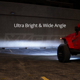 Ultra Bright & Wide Angle being used on jeep.