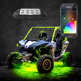 6W Rock Light with XKchrome Smartphone App-enabled Bluetooth Kit