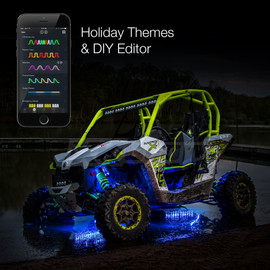 Holiday Theme & DIY Presets used to display selected option via UTV / ATV lights