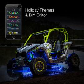 Holiday Theme & DIY Presets used to display selected option via UTV / ATV lights