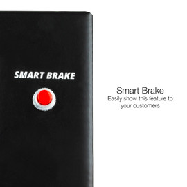 Smart brake button to display smart brake feature