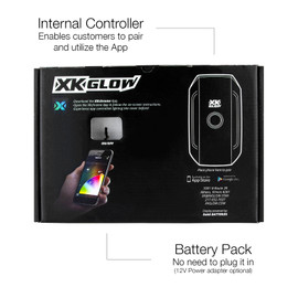 Internal Controller Enabling customers to pair with controller and use app. Battery Pack included
