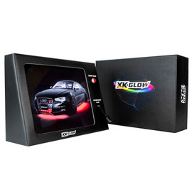 Battery Powered Mobile XKGLOW Display - Audi