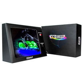Battery Powered Mobile XKGLOW Display - Harley Davidson