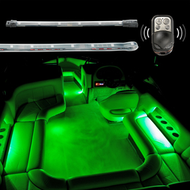 2 Million Color Remote Control Boat Interior Accent Neon Light Kit
