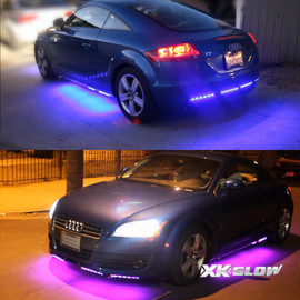 3 Million color kit lighting up AUDI