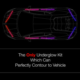 Perfectly contour your car with our 3 million color kit