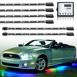 3 Million Color Remote Control LED Undercar Light Kit