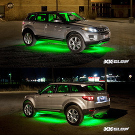 3 Million color kit lighting up SUV