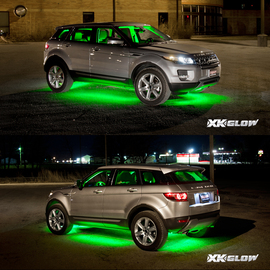 3 Million color kit lighting up SUV