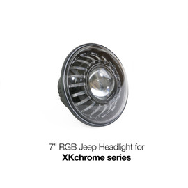 7in RGB Headlight for XKchrome series