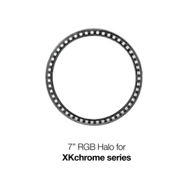 "1pc 7"" RGB Halo External Ring-No Controller"