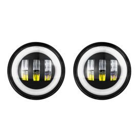 4in Black Jeep RGB Fog Light Add-on Kit