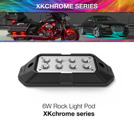 6W XKchrome Rock Light Pod
