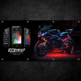 XKGLOW Dealer Banner - R6 Sports Bike