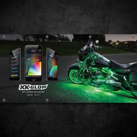 XKGLOW Dealer Banner - Harley Motorcycle
