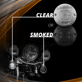 Smoked and Clear Lenses Available