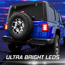 Ultra Bright LEDs.