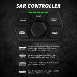 SAR 90 Degree Search & Rescue Light Bar Kit