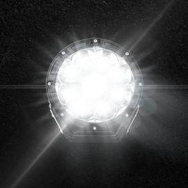 7in Spot Light with Laser Beam w/ LED and LASER