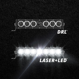 14in Light Bar w/DRL and LED+Laser combo