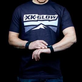 XKGLOW T-Shirt front blue