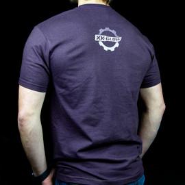 XKGLOW T-Shirt back blue