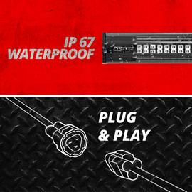 Waterproof Strip Strobe w/ Plug and Play