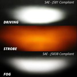 """20"""" Fog + Strobe + High Beam"""