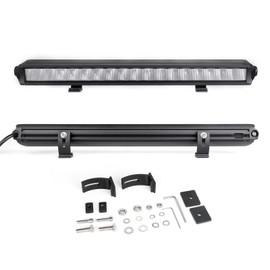 "20"" Fog + Strobe + High Beam LED Razor SAE  Light Bar Kit w/ Switch & Wire"